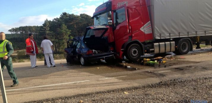 Imagen del accidente. / SN