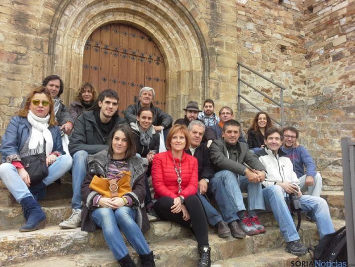 Blogueros y periodistas en Tierras Altas