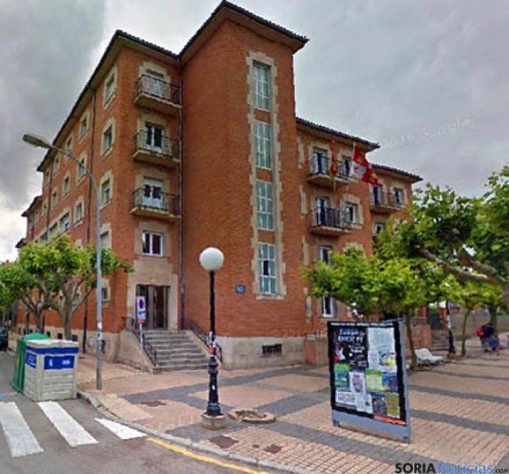 Edificio de la biblioteca pública de Soria./SN