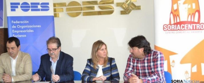 Presentación del Rallye de compras 'Soriacentro'