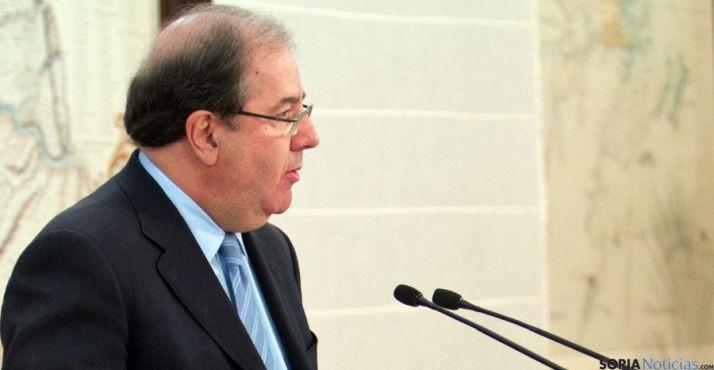 El presidente de la Junta, Juan Vicente Herrera. / Jta.
