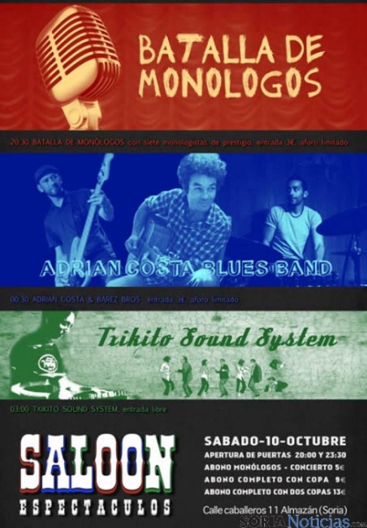 Cartel del concierto de Almazán