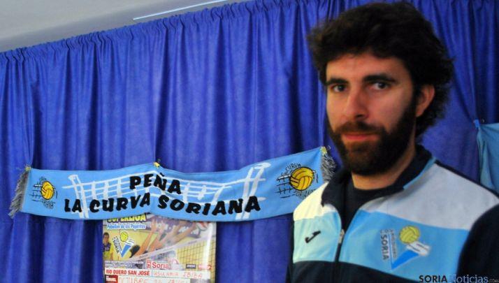 Sevillano, este jueves en la sede del club./SN