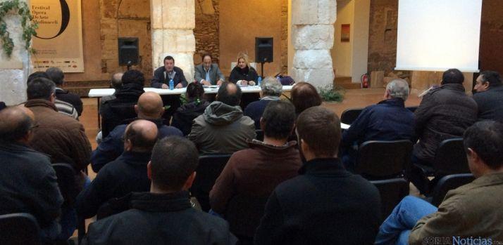 Imagen de la reunión en Medinaceli./Jta.