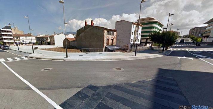 Imagen de la plaza Nueva de Ólvega