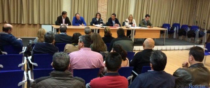 Reunión del PP en Almazán