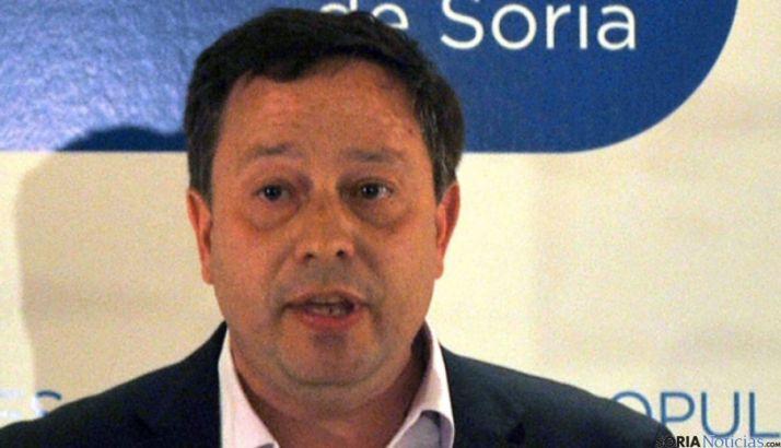 Adolfo Sainz, del Grupo Popular en el Ayuntamiento capitalino. / SN