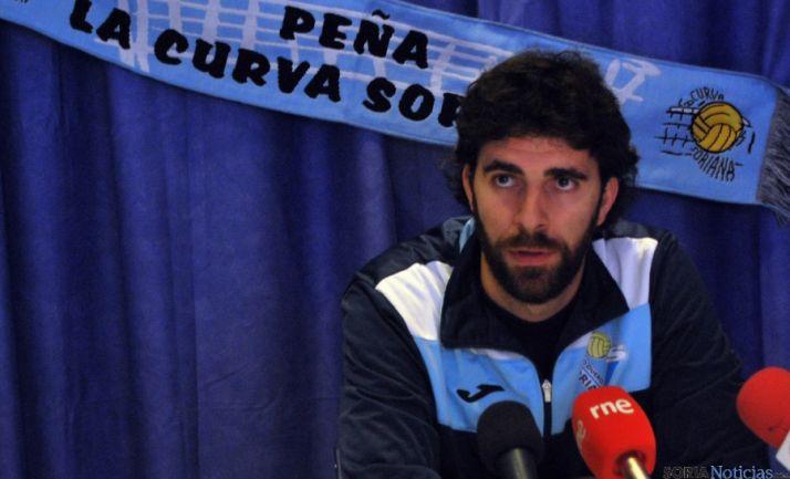 Sevillano, entrenador del Duero San José./SN