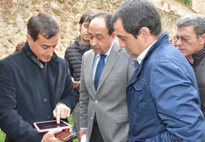 Presentación del dispositivo para móviles del Camino Jacobeo