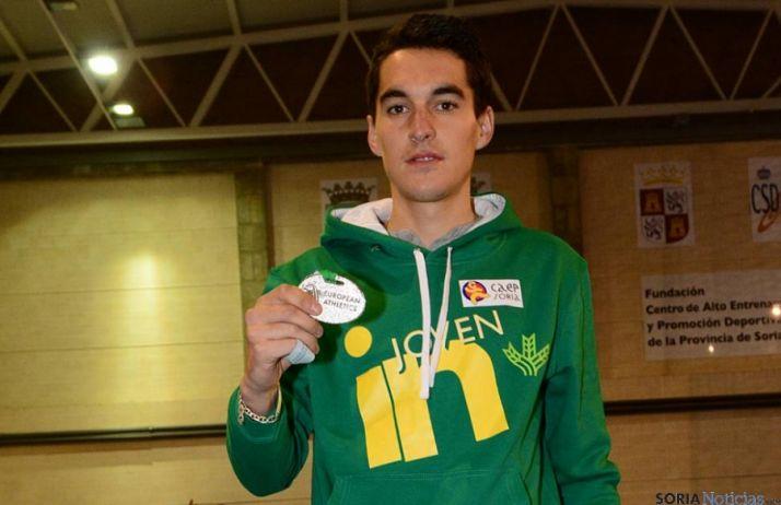 El atleta adnamantino Dani Mateo.