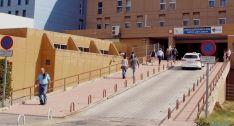 La única paciente hospitalizada en el Santa Bárbara evoluciona favorablemente. / SN