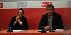 Mónica Sanz y Javier Antón. / SN
