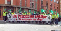 Manifestación de ASAJA en octubre./SN