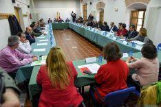 La reunión con agentes sociales este miércoles en Soria. / SN