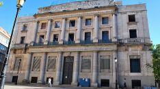 El edificio del Banco de España en Soria. / SN