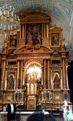 Ágreda vivió un emotivo acto protagonizado por las figuras de Sor María y de Santa Teresa.