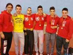 Éxito del kickboxing soriano