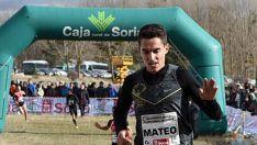 El atleta adnamantino en una imagen de archivo./SN