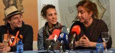 La actriz Lola Dueñas en Soria