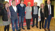 Candidatos del PSOE Soria al Congreso y Senado