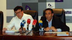 Jesús Cedazo y Raúl Lozano, diputados de Agricultura. / Dip