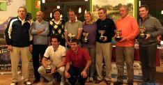 Ganadores del trofeo de golf XIII Aniversario