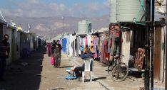 Un campo de refugiados atendido por la ONG./CM
