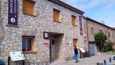 Entrada a la oficina de turismo de Medinaceli. / SN