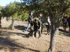 Escolares en la caza de la trufa
