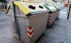 Un grupo de contenedores en la ciudad./SN