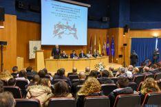 Una imagen de la apertura de estas jornadas auspiciadas por la FCCR y la Junta. / SN