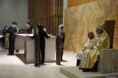 Foto 5 - Un millar de personas asisten a la bendición de la nueva parroquia de Camaretas