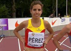 Marta Pérez, mejor atleta promesa.