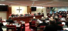 Asamblea de Obispos en Madrid.