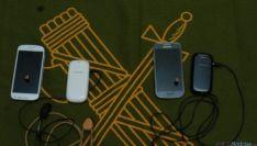 Teléfonos intervenidos por la Guardia Civil