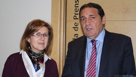 Marimar Angulo y Antonio María Sáez