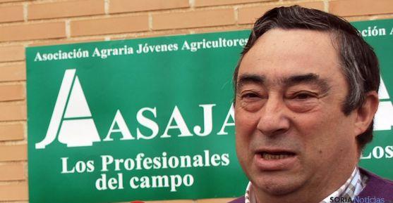 Carmelo Gómez, presidente de ASAJA Soria./SN