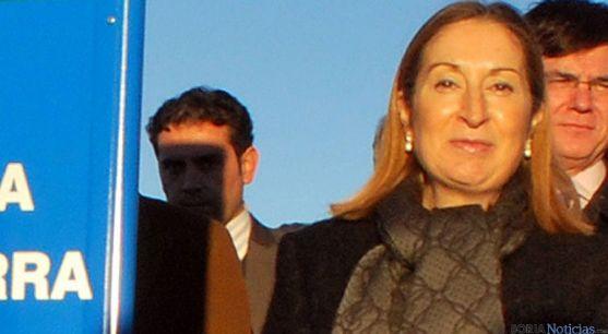 La ministra en una de sus visitas a la provincia de Soria. / SN