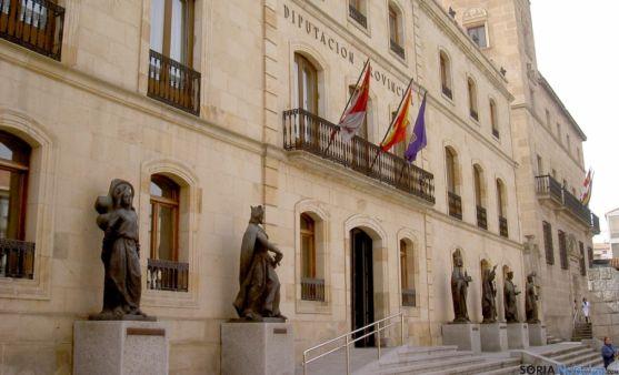 Entrada al Palacio Provincial, sede de la Diputación. / SN