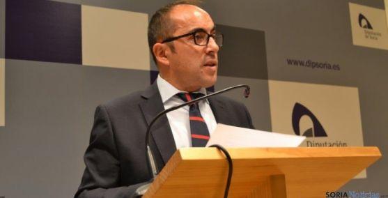Luis Rey, presidente de la Diputación
