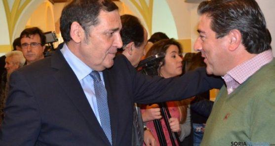 El Consejero de Sanidad de la Junta en Soria