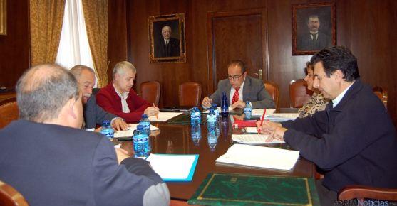 La reunión de seguimiento de la Diputación.