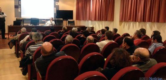 Imangen de la reunión informativa en el Palacio Provincial. / Dip