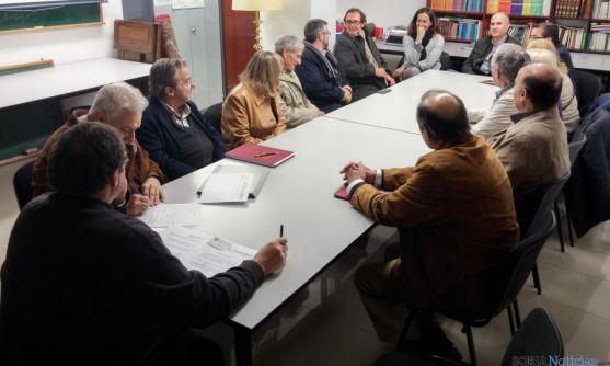 Responsables económicos de la parroquia del Espino.