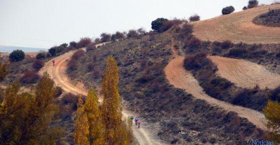 El camino a su paso por Fuentes de Ágreda.