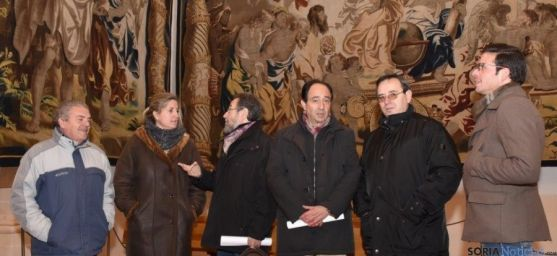 Visita a las obras de San Millán en Oncala