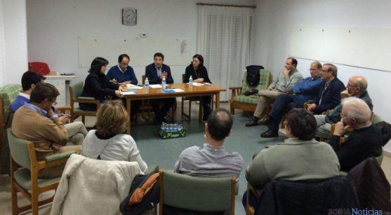 Reunión de alcaldes populares en Duruelo