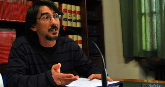 Luis Alberto Romero, concejal de Sorian@s este miércoles. / SN