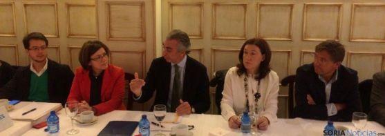 El Secretario de Estado de Hacienda en Soria
