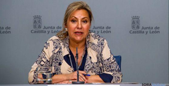 La vicepresidenta de la Junta y consejera de Empleo, Rosa Valdeón. / Jta.